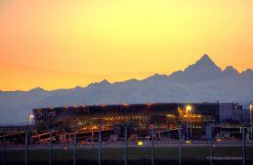 una bella foto dell'aeroporto di Caselle fatta da Fabrizio Catanzaro photography